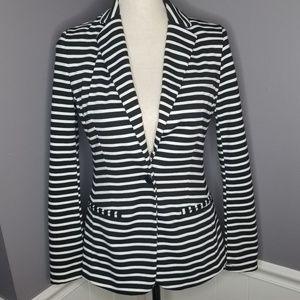 Mossimo | Black & White Pinstripe Blazer